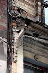 Leuvensesteenweg 231, Sint-Joost-ten-Node, gelijkvloers, console van de kroonlijst (© APEB, foto 2016).