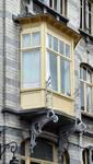 Rue Souveraine 52, Ixelles, logette (© APEB, photo 2016).