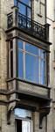 Rue des Aduatiques 9, Etterbeek, premier étage, logette (© APEB, photo 2016).