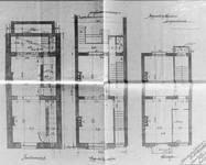 Rue Metsys 28, Schaerbeek, plans des niveaux, ACS/Urb. 192-28 (1902).
