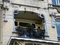Avenue Louis Bertrand 43, Schaerbeek, deuxième étage, loggia (© APEB, photo 2005).