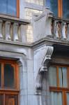 Rue Joseph II 148, Bruxelles Extension Est, premier étage, balcon (© APEB, photo 2005).