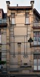 Rue Peter Benoit 2-4 et chaussée de Wavre 517-519, Etterbeek, façade côté chaussée, partie droite (© APEB, photo 2016).