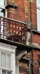 Rue Josaphat 259, Schaerbeek, deuxième étage, balcon (© APEB, photo 2013).