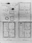 Avenue des Frères Haeghe 25, Tournai, plans du demi sous-sol et du rez-de-chaussée, AET/Ville de Tournai/Voirie 16420/Plans 4422 (1905).