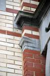 Rue Van Campenhout 51, Bruxelles Extension Est, premier étage, détail (© APEB, photo 2016).
