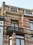 Rue des Coteaux 53-55 et 57-59, Schaerbeek, première travée, troisième étage (© APEB, photo 2016).