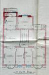 Avenue Chazal 17a-21, Schaerbeek, plan des trois étages, ACS/Urb. 46-17a-21 (1914).