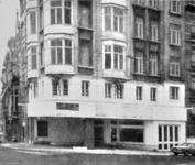 Avenue Louis Bertrand 94-96, Schaerbeek, station-service aménagée en 1968, ACS/Urb. 176-94-96 (1968).