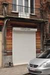 Rue Josaphat 265, Schaerbeek, rez-de-chaussée commercial (© APEB, photo 2013).