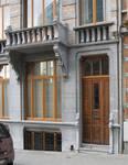 Rue Joseph II 150, Bruxelles Extension Est, rez-de-chaussée (© APEB, photo 2005).