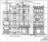 Chaussée de Wavre 580-582, Etterbeek, élévations, ACEtt/TP 16559 (1904).
