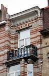 Rue des Coteaux 53-55 et 57-59, Schaerbeek, dernière travée, troisième étage (© APEB, photo 2016).