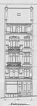 Chaussée de Louvain 229, Saint-Josse-ten-Noode, élévation avant, ACSJ/Urb. 6429 (1903).