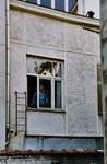 Rue de l'Abdication 4, Bruxelles Extension Est, façade arrière, premier étage (© APEB, photo 2002).