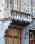 Rue Joseph II 150, Bruxelles Extension Est, premier étage, balcon (© APEB, photo 2015).