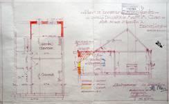 Rue Saint-Quentin 30, Bruxelles Extension Est, projet d'extension à l'arrière, AVB/TP 58806 (1949).