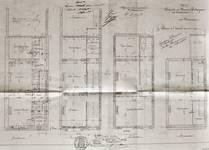 Boulevard des Déportés 30 et 32, Tournai, plans des niveaux, AET/Ville de Tournai/Voirie 19347/Plans 4895 (1907).