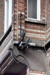 Chaussée de Louvain 231, Saint-Josse-ten-Noode, premier étage, flanc droit de l'oriel (© APEB, photo 2016).