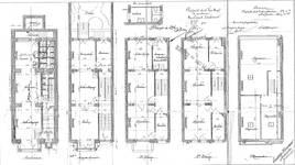 Boulevard Lambermont 150, Schaerbeek, plans des niveaux, ACS/Urb. 164-150 (1910).