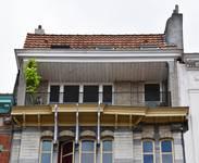 Rue Souveraine 52, Ixelles, loggia (© APEB, photo 2016).