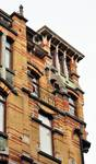 Avenue Louis Bertrand 53-61, Schaerbeek, niveaux supérieurs à l'angle de la rue Josaphat (© APEB, photo 2012).
