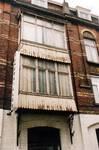 Rue Victor Lefèvre 61 et rue de Linthout 88, Schaerbeek, oriel rue de Linthout (© APEB, photo 1999).