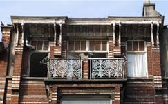 Chaussée de Louvain 231, Saint-Josse-ten-Noode, troisième étage (© APEB, photo 2005).