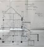 Rue Van Campenhout 51, Bruxelles Extension Est, coupe longitudinale, AVB/TP 2018 (1901).