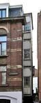 Rue Victor Lefèvre 61 et rue de Linthout 88, Schaerbeek, face latérale, oriel des WC (© APEB, photo 2011).
