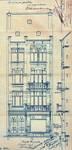 Rue Josaphat 265, Schaerbeek, élévation, ACS/Urb. 154-259-265 (1908).