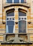 Avenue Van Cutsem 28b, Tournai, premier étage, travée droite (© APEB, photo 1998).