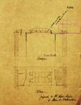Rue de l'Abdication 4, Bruxelles Extension Est, plans de la cour couverte arrière, AVB/TP 6386 (1902).