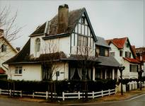 Visserslaan 31 en 33, De Panne, Villa's 'Aline' en 'Valentine' (© T. Verhofstadt, foto 2001)