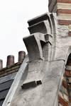 Saint-Quentinstraat 32, Brussel Uitbreiding Oost, detail van het dakvenster (© APEB, foto 2016).