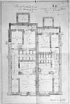 Rue Joseph II 148 et 150, Bruxelles Extension Est, plan des demi sous-sols, AVB/TP 13056 (1898).