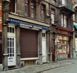 Rue Josaphat 271-273 et 275-277, Schaerbeek, rez-de-chaussée (© APEB, photo 2015).