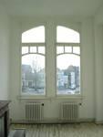 Avenue Van Cutsem 28b, Tournai, premier étage, fenêtre droite (© APEB, photo 2005).