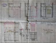 Rue Joseph II 150, Bruxelles Extension Est, projet de transformation arrière, AVB/TP 13056 (1906).