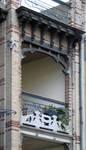 Boulevard Clovis 85-87, Bruxelles Extension Est, partie droite, deuxième étage (© APEB, photo 2016).