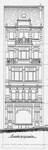 Chaussée de Louvain 231, Saint-Josse-ten-Noode, élévation avant, ACSJ/Urb. 6430 (1903).