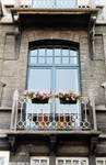 Boulevard des Déportés 36, Tournai, premier étage (© APEB, photo 2002).