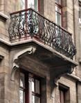 Rue Josaphat 271-273, Schaerbeek, premier étage, balcon (© APEB, photo 2013).