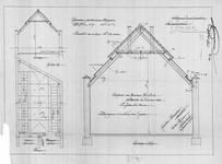 Chaussée de Louvain 231, Saint-Josse-ten-Noode, plans pour un entrepôt à l'arrière, ACSJ/Urb.7532 (1908).