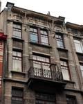 Rue Josaphat 271-273, Schaerbeek, derniers niveaux (© APEB, photo 2013).