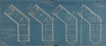 Rue Luther 28, Bruxelles Extension Est, plans des niveaux, AVB/TP 2921 (1902).