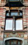 Avenue Van Cutsem 29, Tournai, rez-de-chaussée (© APEB, photo 2002).