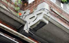 Chaussée de Louvain 237-239, Saint-Josse-ten-Noode, premier étage, balcon (© APEB, photo 2016).