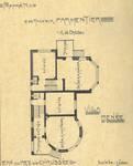 Bortierlaan 24 en Hoge Duinenlaan 25, De Panne, Villa's 'René' en 'Norbert' (© Album de la Maison Moderne, [1908], kalk)