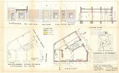 Rue Peter Benoit 2-4 et chaussée de Wavre 517-519, Etterbeek, projet de transformation du rez-de-chaussée, ACEtt/TP (1982).